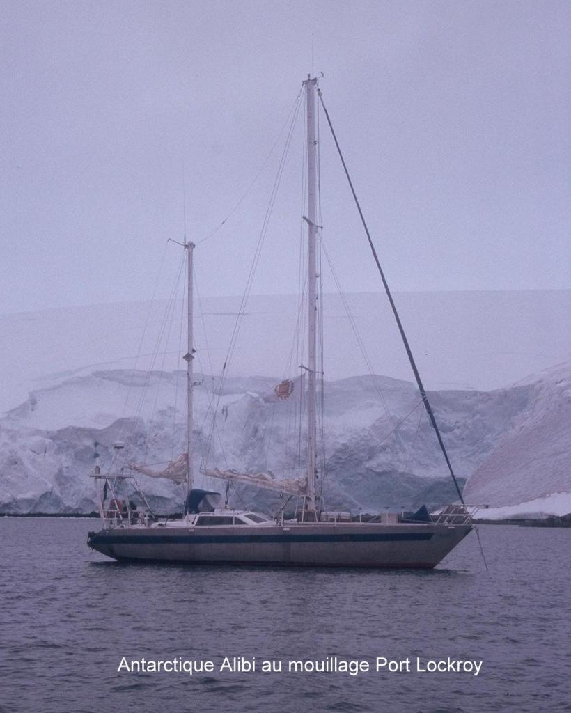 Antarctique Alibi Mouillage Port Lockroy