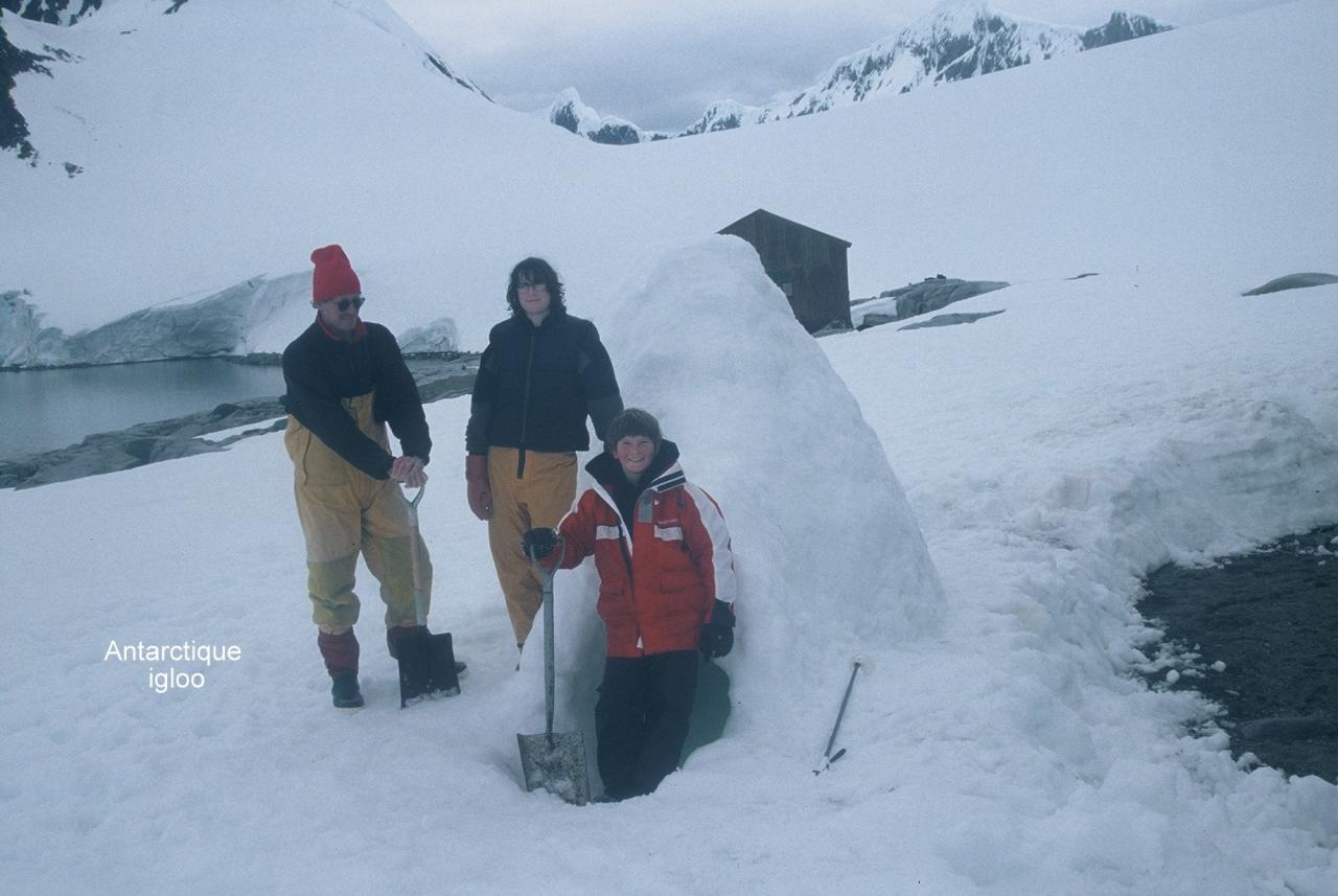 Antarctique Igloo