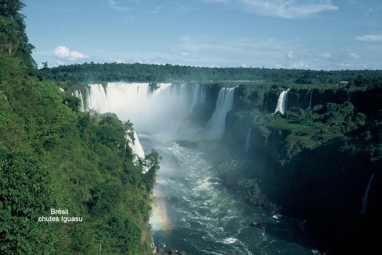 Brésil chutes Iguasu 1