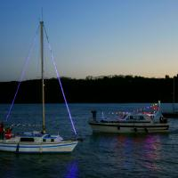 Bateaux Illuminés en rade de Binic